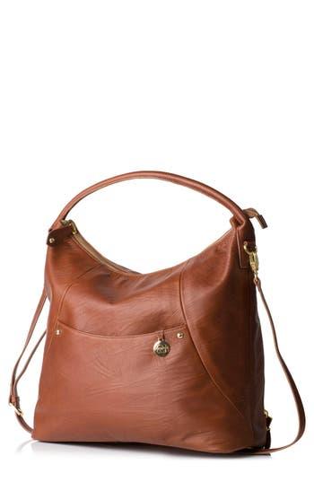 Infant Pacapod Jasper Leather Diaper Bag