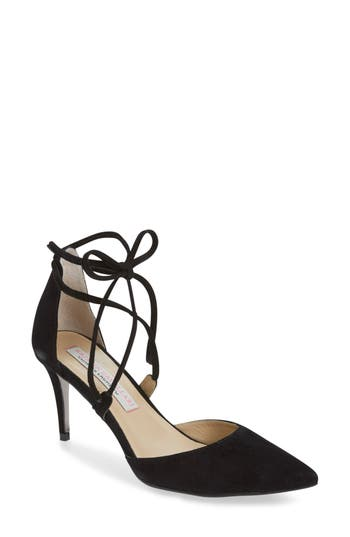 Women's Kristin Cavallari 'Opel' Lace-Up Pointy Toe Pump at NORDSTROM.com
