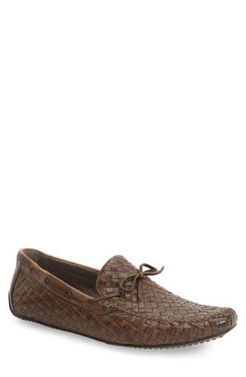 Zanzara Leather Loafer, Brown