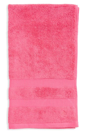 Kate Spade New York 'Chattam' Stripe Hand Towel, Size One Size - Pink