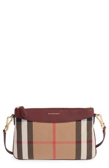 Burberry 'Peyton - House Check' Crossbody Bag -