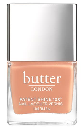Butter London 'Patent Shine 10X' Nail Lacquer - Tea With The Queen