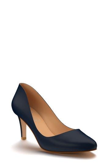 Shoes Of Prey Round Toe Pump A - Blue