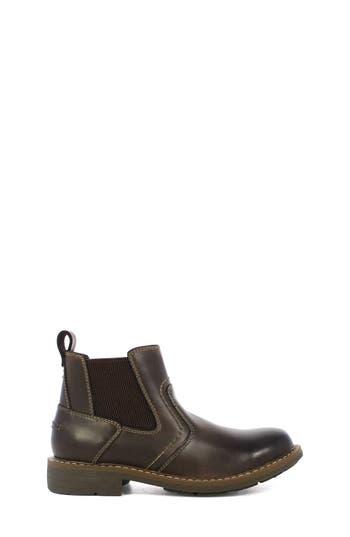 Boys Florsheim Studio Gore Chelsea Boot Size 3 M  Brown