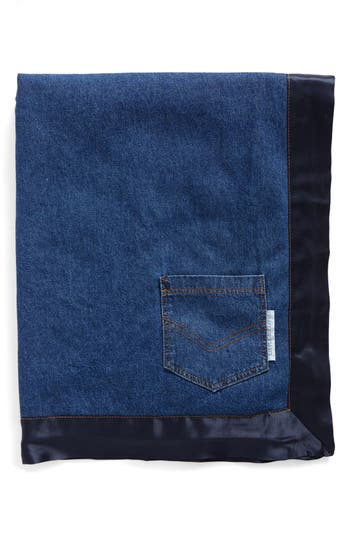 Little Giraffe Indigo(TM) Pocket Blanket