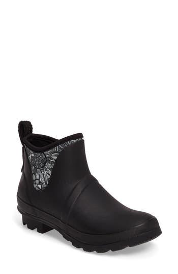 Sakroots Mano Waterproof Rain Boot, Black