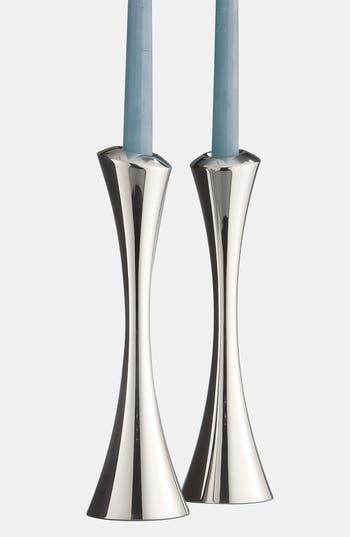 Nambe Aquila Set Of 2 Candlesticks
