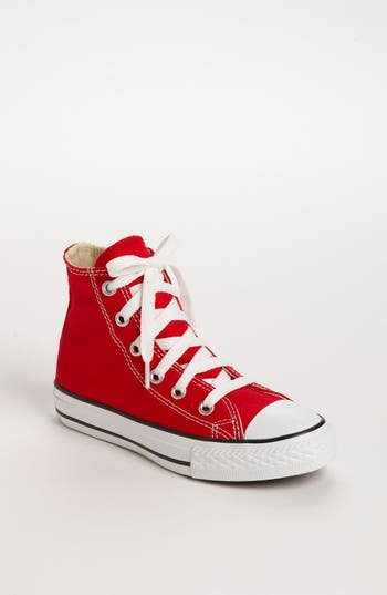 Toddler Converse Chuck Taylor High Top Sneaker Size 115 M  Red