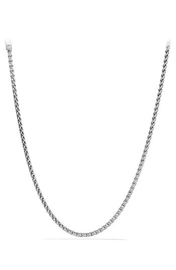 David Yurman 'Chain' Wheat Chain Necklace