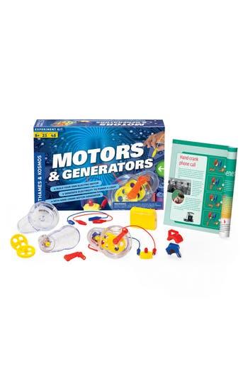Boys Thames  Kosmos Motors  Generators Experiment Kit