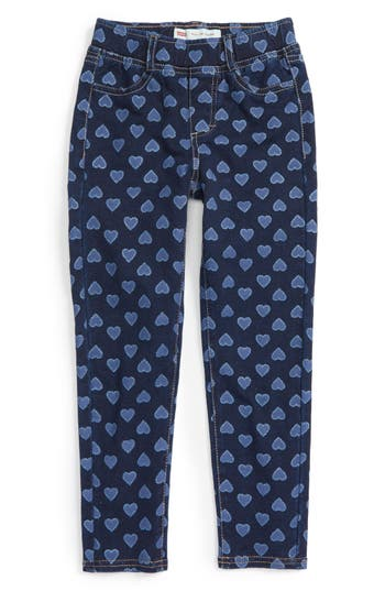 Girls Levis Haley May Leggings Size 5  Blue