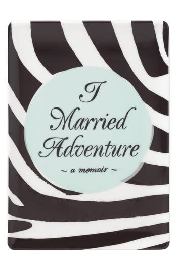 Kate Spade New York I Married Adventure Porcelain Tray