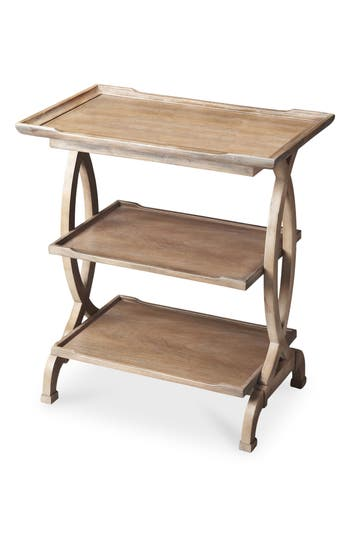 Butler Three Tier Accent Table