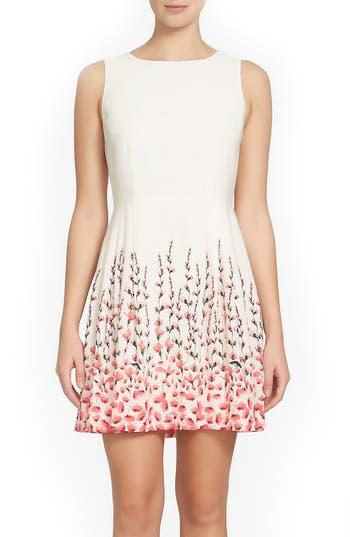 Cece Claiborne Fit & Flare Dress