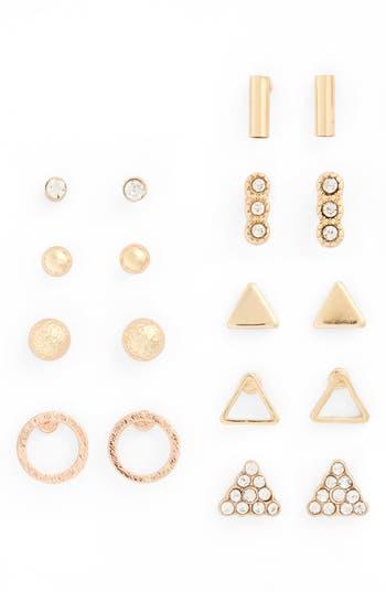 Women's Bp. 9-Pack Geo Stud Earrings