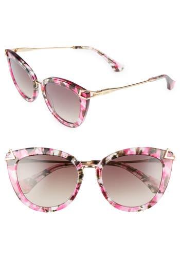 Sonix Melrose 51Mm Cat Eye Sunglasses -