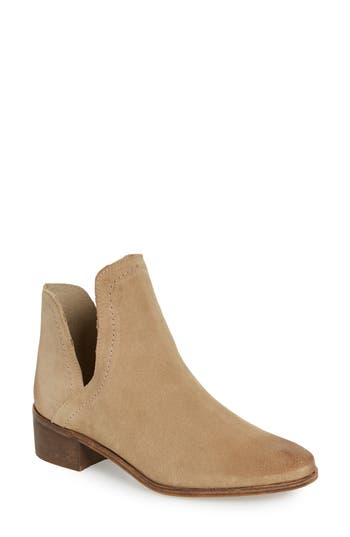 Matisse Pronto Split Shaft Bootie- Beige