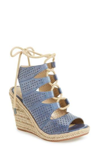 Johnston & Murphy Mandy Perforated Wedge Sandal