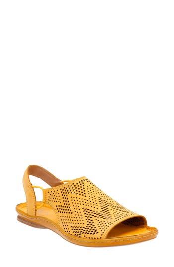 Women's Clarks Sarla Cadence Slingback Sandal, Size 8 N - Yellow