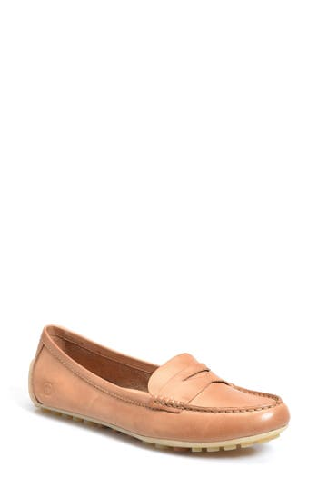 B?rn Malena Driving Loafer- Brown