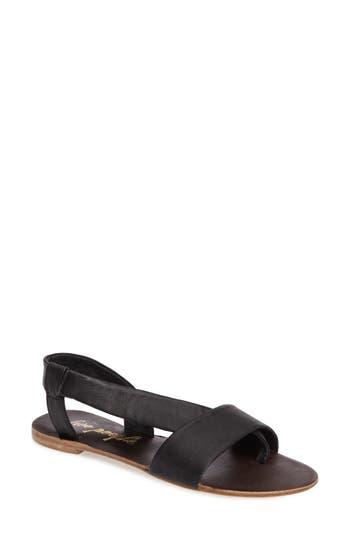Women's Free People Under Wraps Sandal, Size 7.5-8US / 38EU - Black