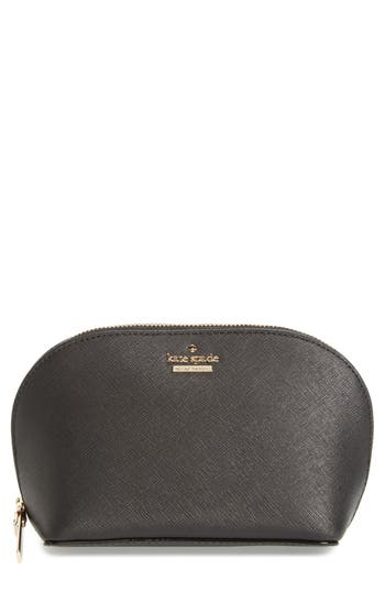 CAMERON STREET - SMALL ABALENE LEATHER COSMETICS CASE