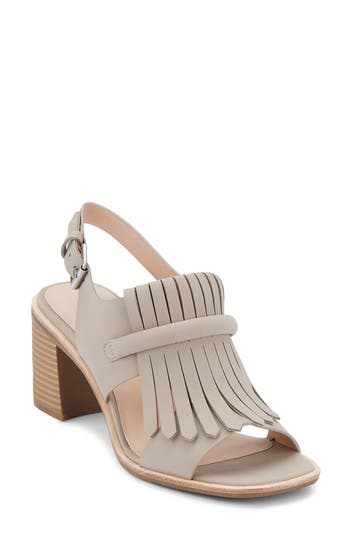 G.h. Bass & Co. Reagan Kiltie Fringe Sandal, Grey