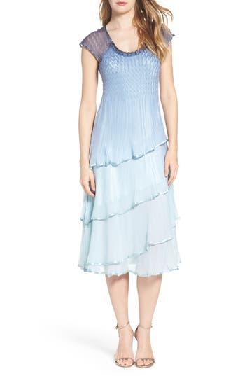 Komarov Embellished Midi Dress