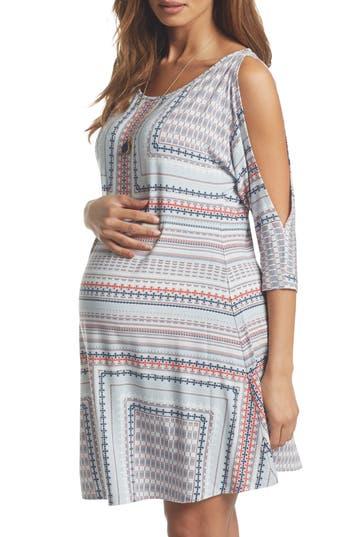 Tart Maternity Naya Cold Shoulder Maternity Dress