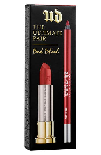 Urban Decay The Ultimate Pair Bad Blood Lipstick & Pencil Duo - Bad Blood