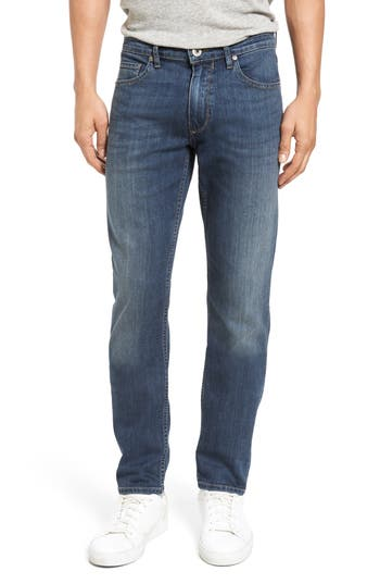 Big & Tall Paige Transcend - Lennox Slim Fit Jeans, Blue