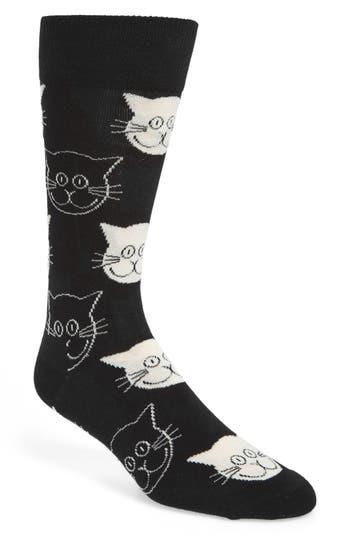 Men's Happy Socks Cat Socks