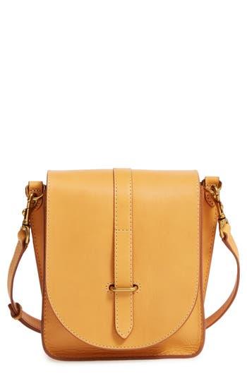Frye Ilana Leather Crossbody Bag - Yellow