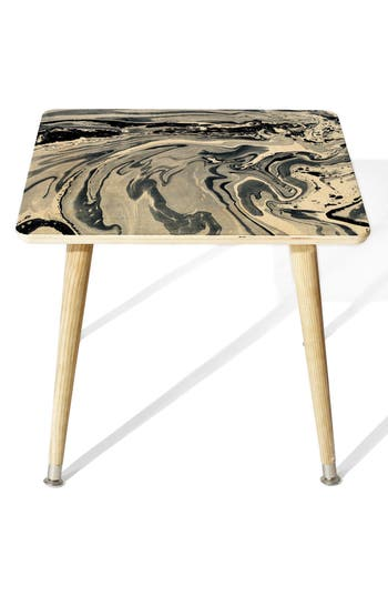 Deny Designs Navy Side Table, Size One Size - Blue