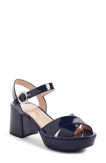 Women's Prada Strappy Platform Sandal