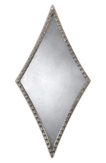 Uttermost Gelston Set Of 2 Diamond Wall Mirrors, Size One Size - Metallic