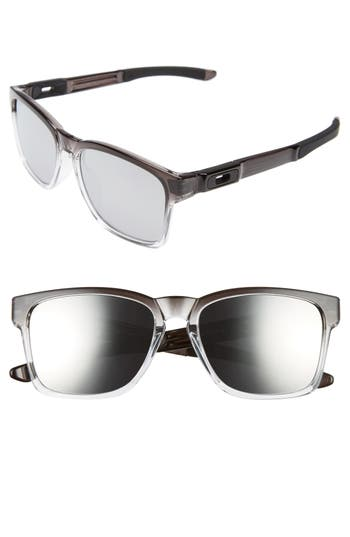 Oakley Catalyst 5m Sunglasses - Dark Ink Fade/ Chrome Iridium