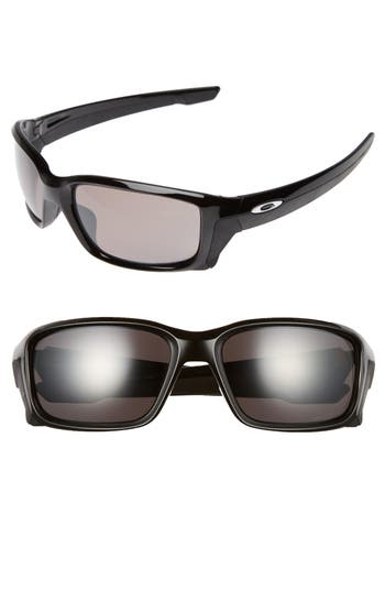 Oakley Straightlink 61Mm Polarized Sunglasses - Black/ Prizm P
