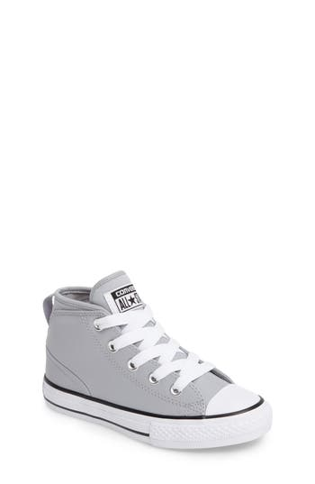 Boys Converse Chuck Taylor All Star Syde Street High Top Sneaker Size 1 M  Grey