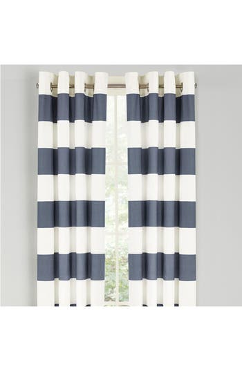 Nautica Cabana Set Of 2 Window Panels