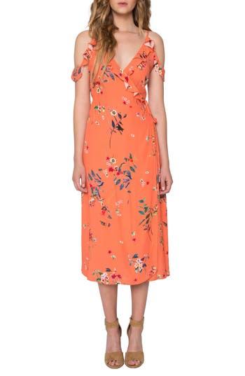 Willow & Clay Print Midi Dress