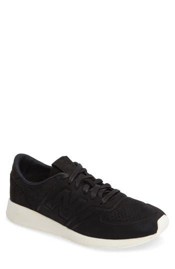 New Balance 420 Deconstructed Sneaker, Black
