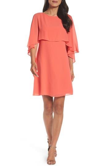 Women's Vince Camuto Cape Overlay Dress