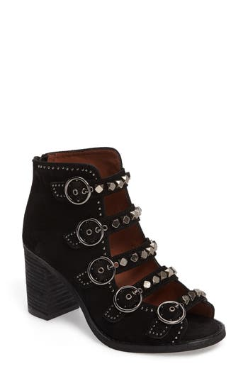 BESS-STUD BUCKLE STRAP BOOTIE from Nordstrom