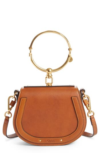 Chloé Small Nile Bracelet Leather Crossbody Bag