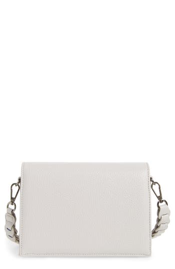 Street Level Braided Handle Crossbody Bag -