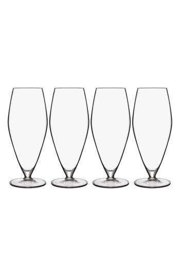 Luigi Bormioli T-Glass Set Of 4 Prosecco Glasses, Size One Size - White