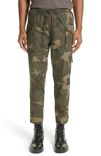 Ovadia & Sons Tribeca Camo Cargo Pants, Green