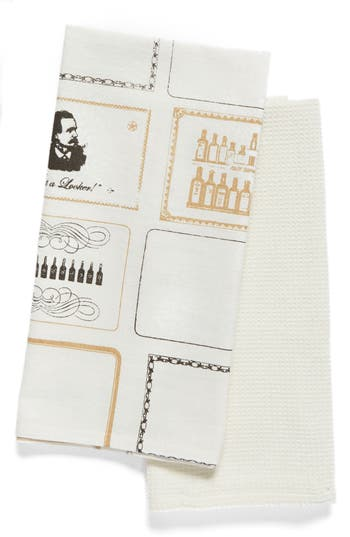 Nordstrom At Home Dad'S Elixir Set Of 2 Dish Towels