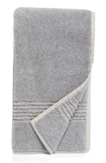 Nordstrom At Home Organic Hydrocotton Heathered Hand Towel, Size One Size - Grey